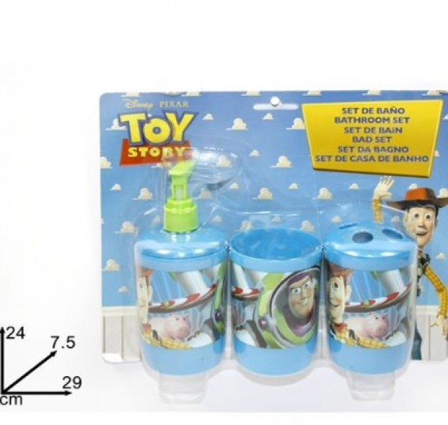 set da bagno toy story 3 pz blister